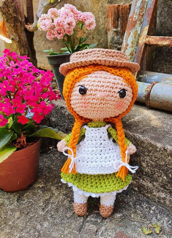 Anne Shirley Amigurumi Crochet Pattern (1)