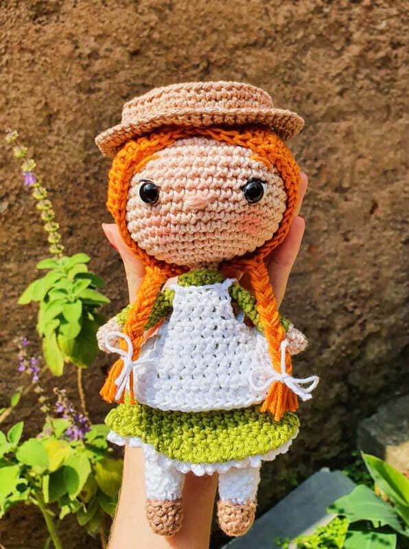 Anne Shirley Amigurumi Crochet Pattern (2)