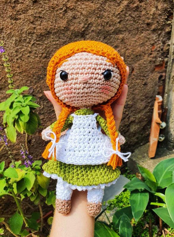 Anne Shirley Amigurumi Crochet Pattern (3)