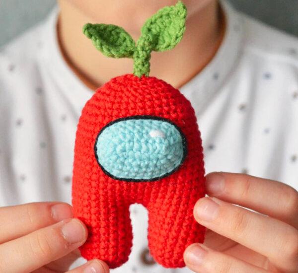 Crochet Among Us Amigurumi Free Pattern