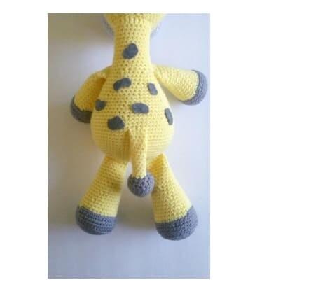 Crochet Big Giraffe Amigurumi Free Pattern (1)