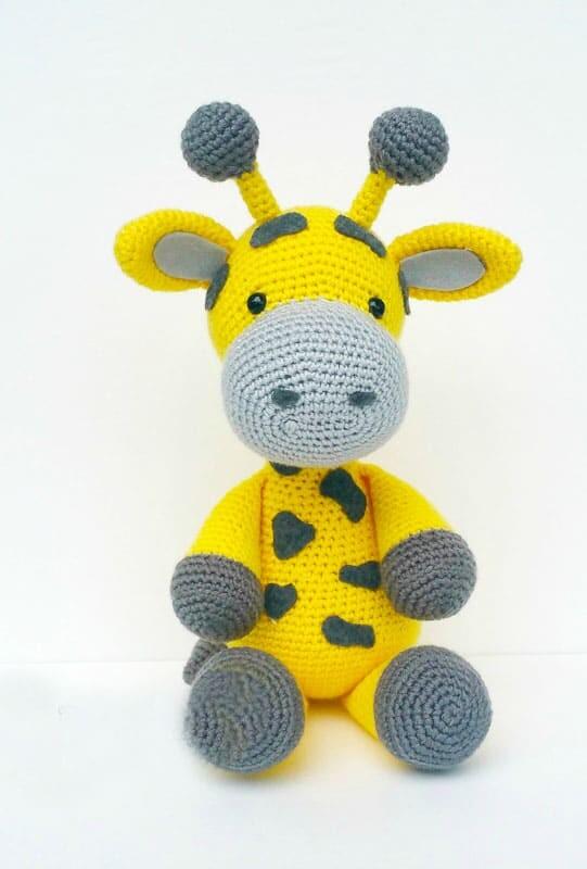 Crochet Big Giraffe Amigurumi Free Pattern (2)