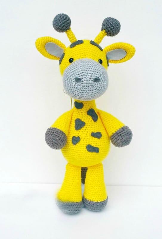 Crochet Big Giraffe Amigurumi Free Pattern (4)