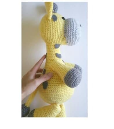 Crochet Big Giraffe Amigurumi Free Pattern (5)