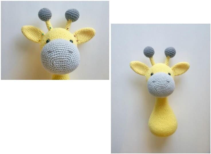Crochet Big Giraffe Amigurumi Free Pattern (6)