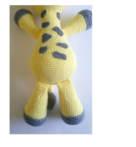 Crochet Big Giraffe Amigurumi Free Pattern (7)