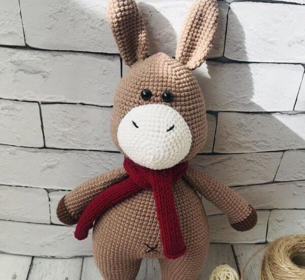 Crochet Donkey Amigurumi Free Pattern