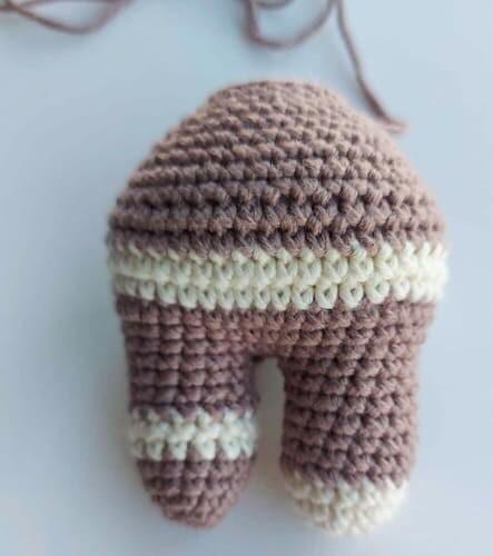 Crochet Gingerbread Amigurumi Free Pattern Body