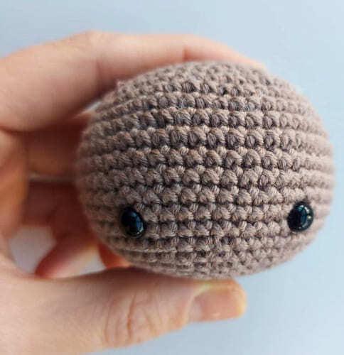 Crochet Gingerbread Amigurumi Free Pattern Head