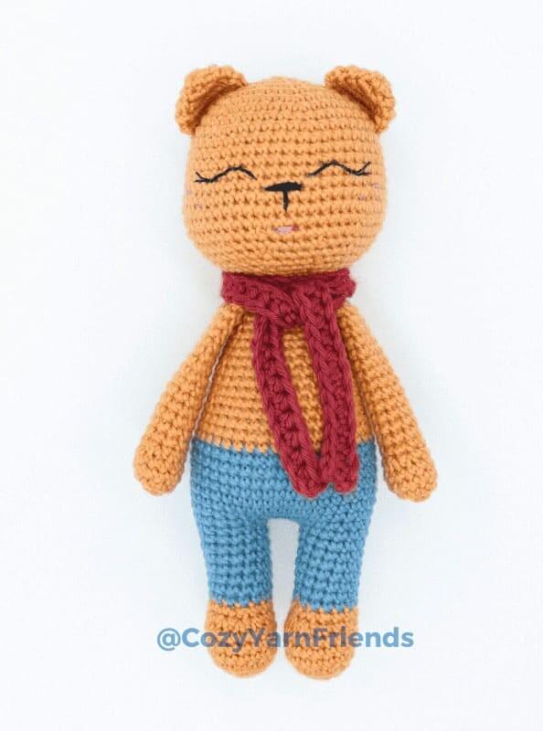 Crochet Teddy Bear Amigurumi Free Pattern 4