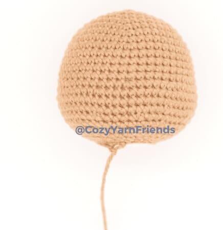 Crochet Teddy Bear Amigurumi Free Pattern heead