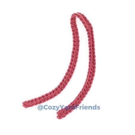 Crochet Teddy Bear Amigurumi Free Pattern scarf