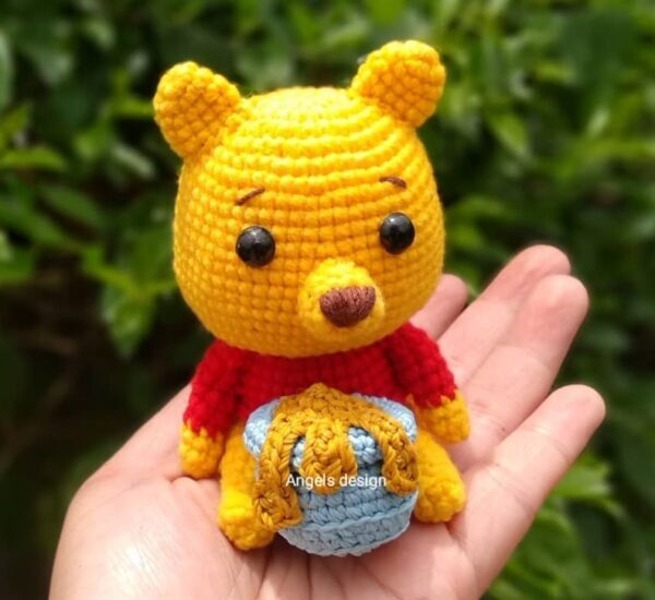 Crochet Winnie the pooh Amigurumi Pattern (1)