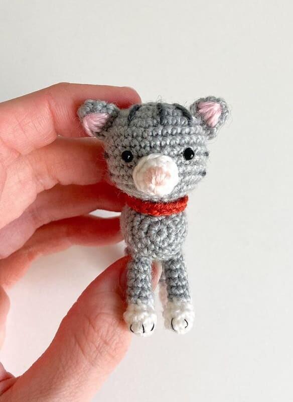 Little Amigurumi Cat Crochet Free Pattern (1)