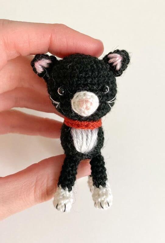 Little Amigurumi Cat Crochet Free Pattern (2)