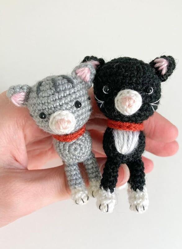 Little Amigurumi Cat Crochet Free Pattern (5)