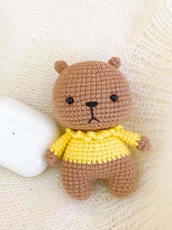 Little Bear Amigurumi Free Pattern