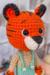 Little Tiger Amigurumi Crochet Pattern (1)