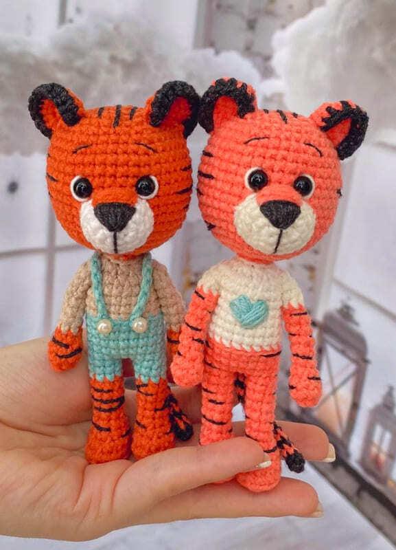 Little Tiger Amigurumi Crochet Pattern (7)