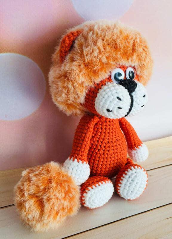 Plush Lion Amigurumi Crochet Pattern (2)
