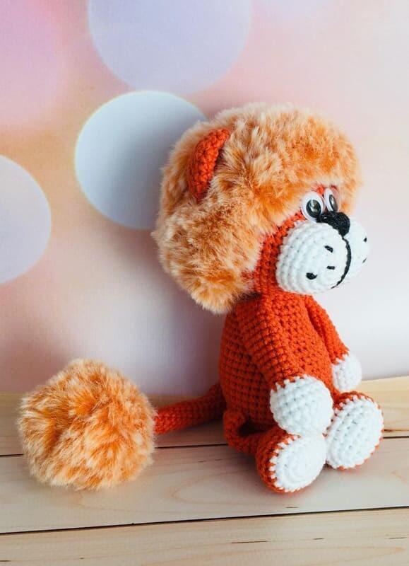 Plush Lion Amigurumi Crochet Pattern (3)