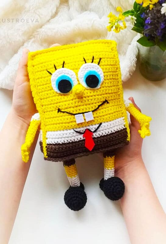 Spongebob Squarepants Amigurumi Crochet Pattern (2)