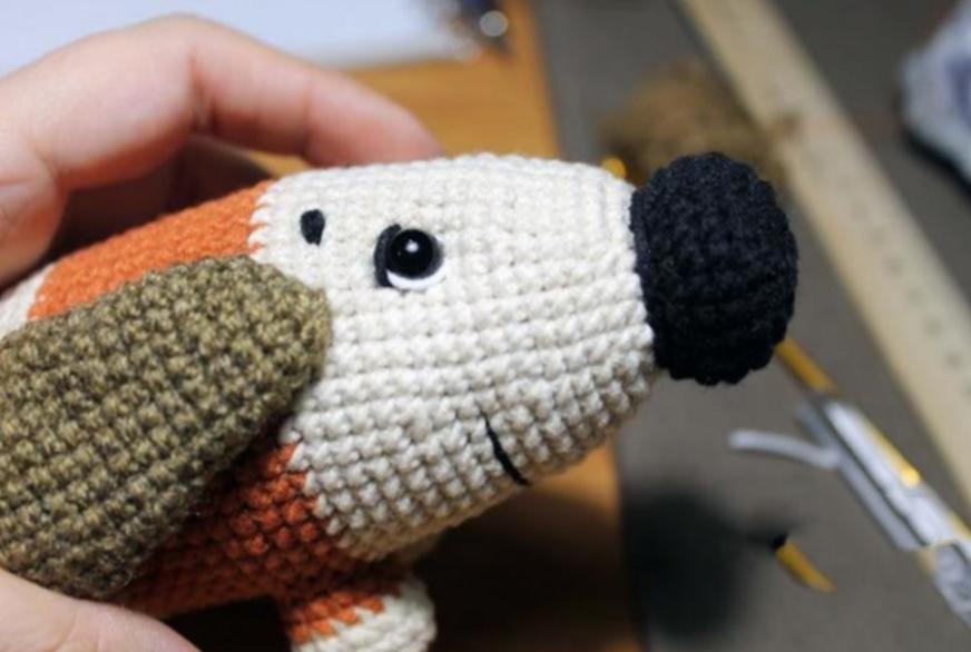Sirup The Puppy Amigurumi Crochet Pattern