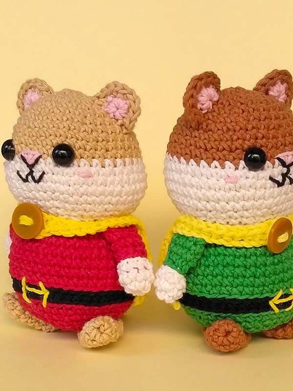 hugo, hamster, hero, amigurumi, crochet, pattern, cute, cartoon,gift, christmas, halloween, legs, arms
