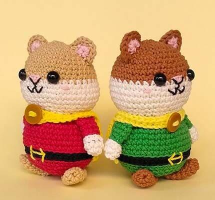 Hugo The Hamster Hero Amigurumi Crochet Pattern