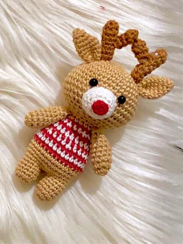 reindeer, couple, amigurumi, crochet, pattern, free pattern, christmas, noel, new year, xmas, boy, head,