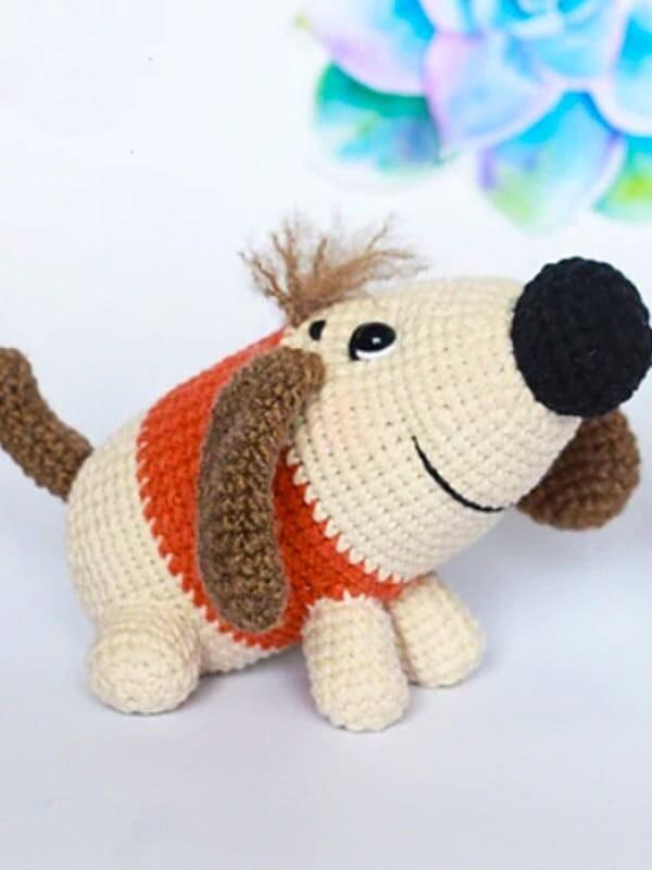 sirup, puppy, amigurumi, crochet, pattern, cute, gift, christmas, halloween, dog, dogs, animal, animals, head, body