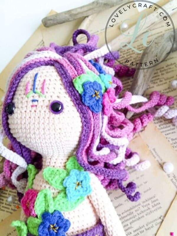 Calypso Mermaid Amigurumi Crochet Free Pattern (1)