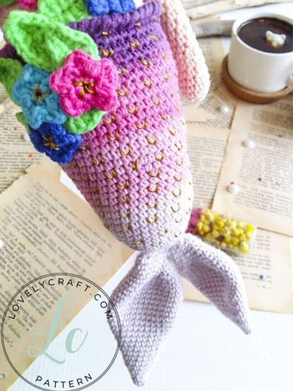 Calypso Mermaid Amigurumi Crochet Free Pattern (3)