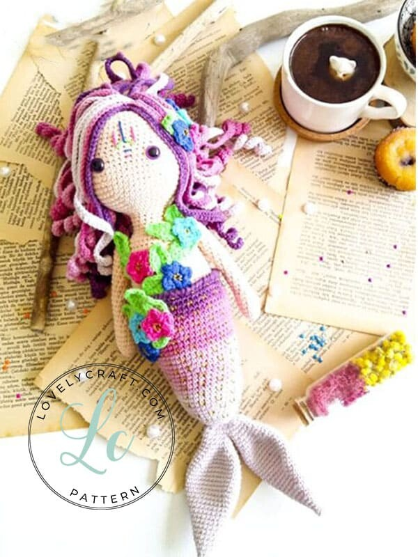 Calypso Mermaid Amigurumi Crochet Free Pattern