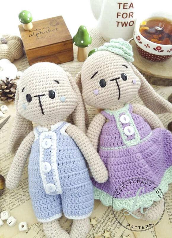 Crochet Bumble Bunny Amigurumi Free Pattern (5)