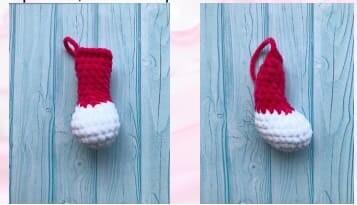 Crochet Bunny pajamas Amigurumi Free Pattern lower feet