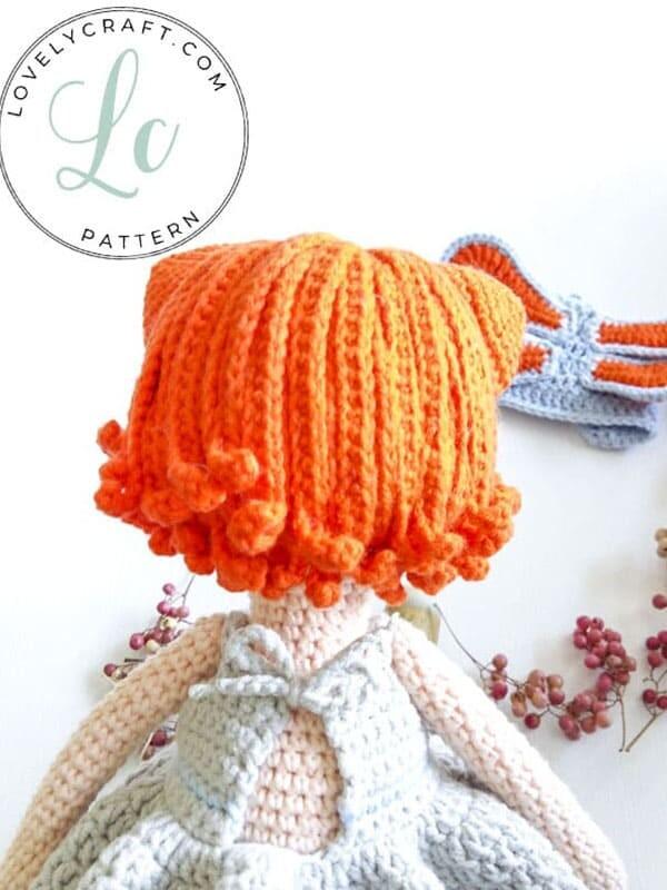 Crochet Cat Girl Doll Amigurumi Free Pattern (2)