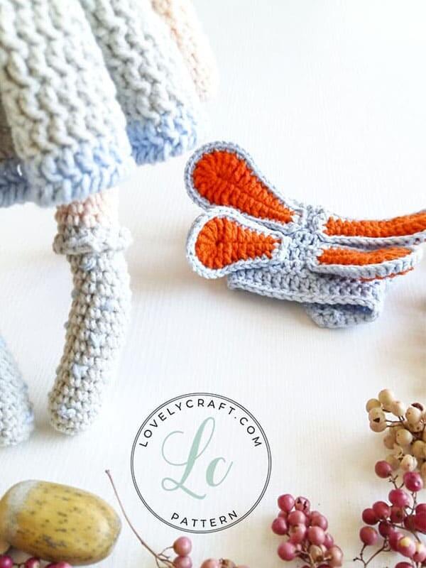 Crochet Cat Girl Doll Amigurumi Free Pattern (3)