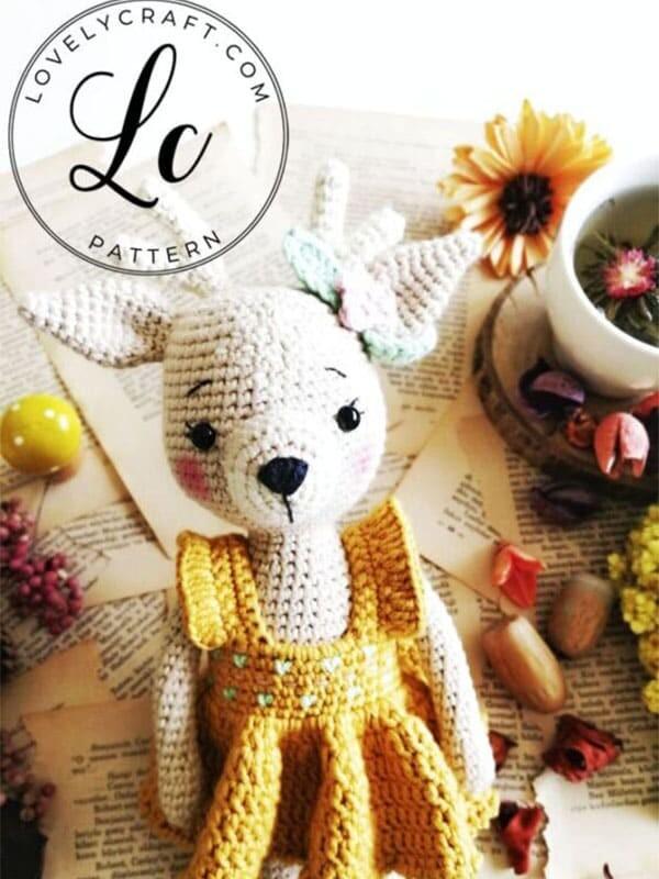 Crochet Deer Nenana Free Amigurumi Pattern (4)