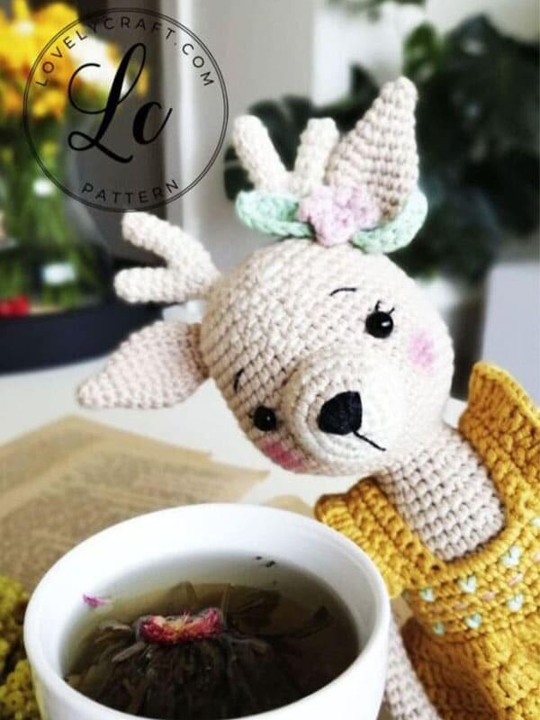 Crochet Deer Nenana Free Amigurumi Pattern (7)