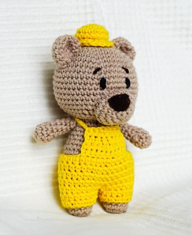 Crochet Easy Louie the Bear Amigurumi Free Pattern (2)