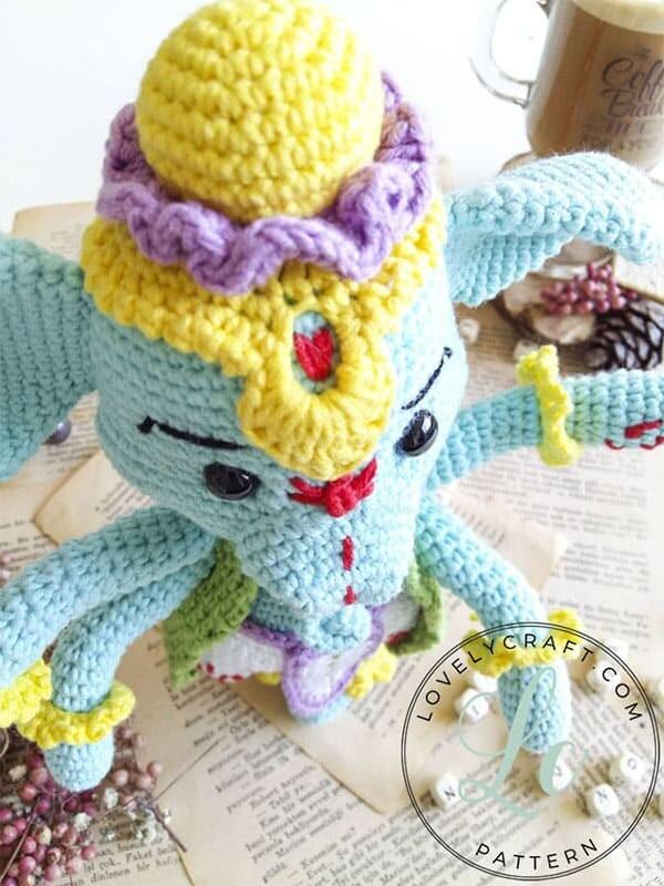 Crochet Elephant Ganesha Amigurumi Free Pattern (2)