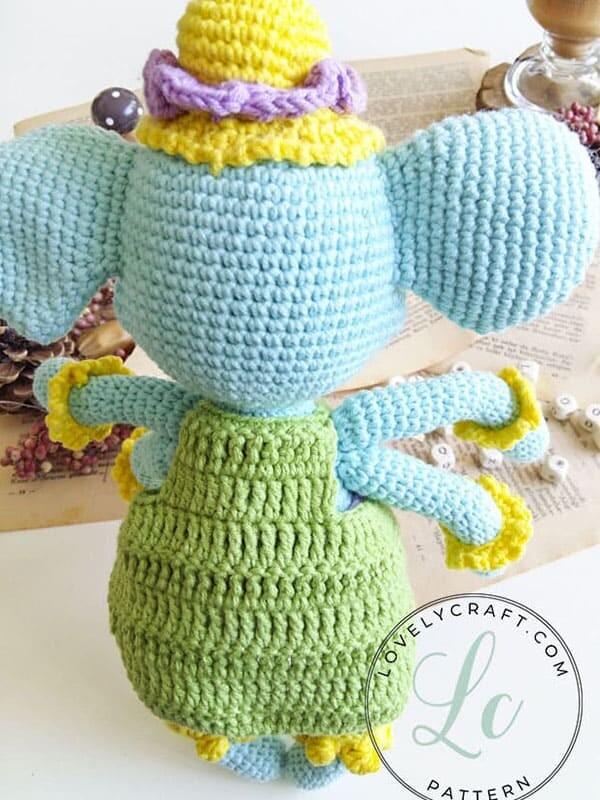 Crochet Elephant Ganesha Amigurumi Free Pattern (3)