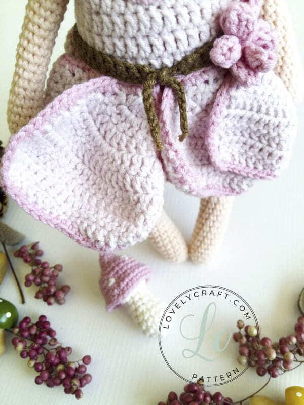 Crochet Forest Fairy Doll Amigurumi Free Pattern (4)