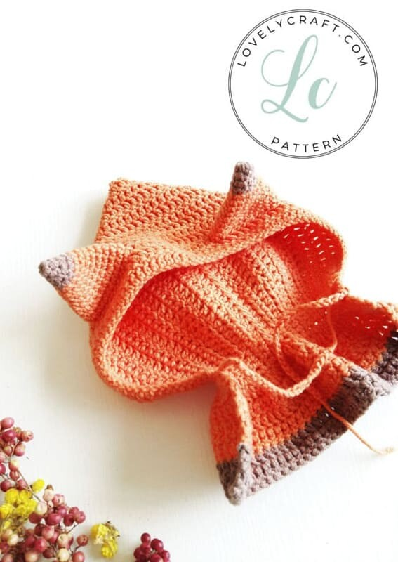 Crochet Fox Girl Doll Amigurumi Free Pattern (5)