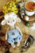 Crochet Lamb Muffin Amigurumi Free Pattern (2)
