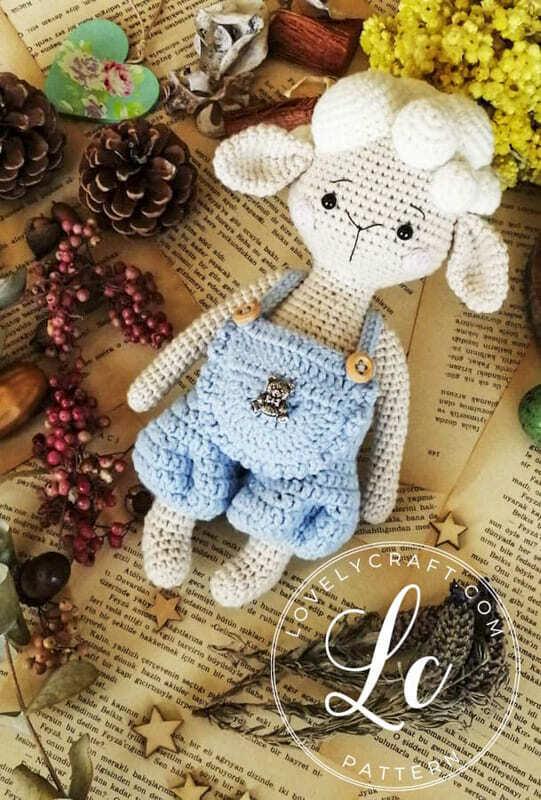 Crochet Lamb Muffin Amigurumi Free Pattern (4)
