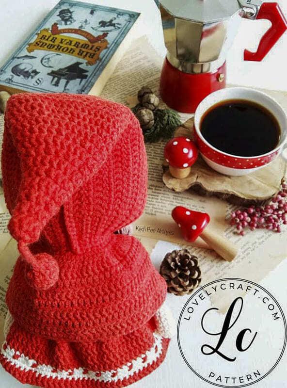 Crochet Little Red Riding Hood Amigurumi Free Pattern (1)