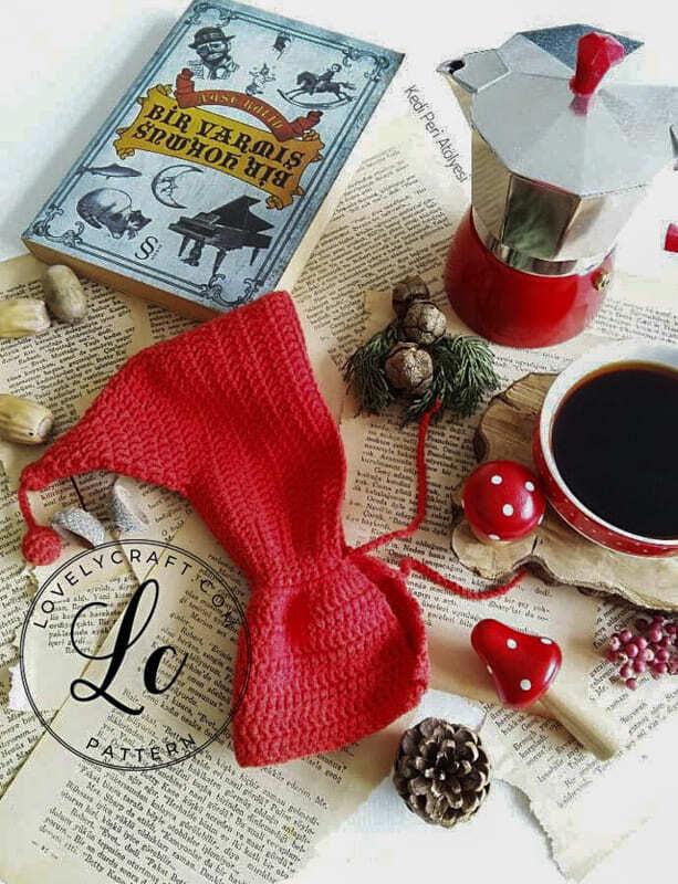 Crochet Little Red Riding Hood Amigurumi Free Pattern (8)