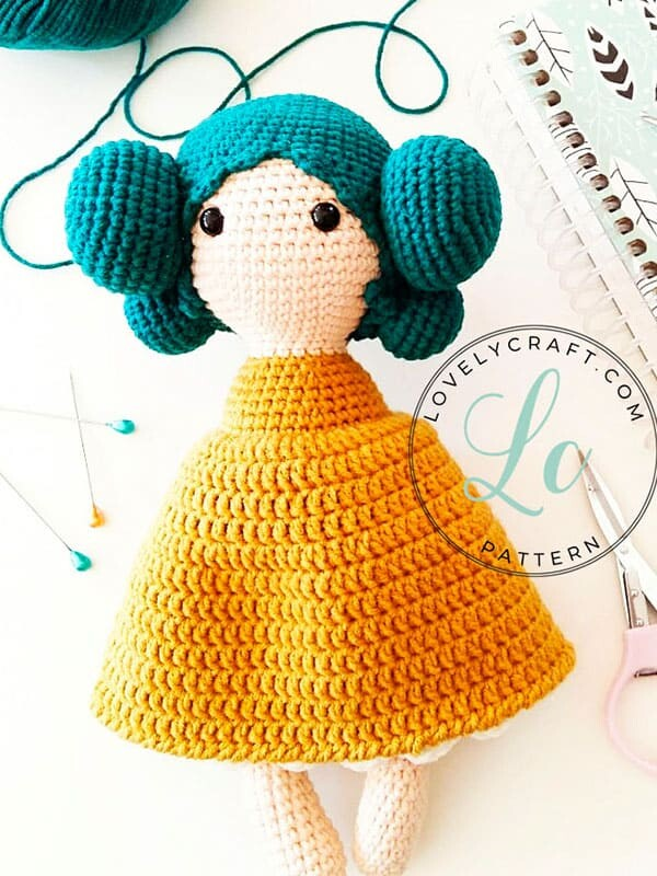 Crochet Maribel Doll Amigurumi Free Pattern (1)